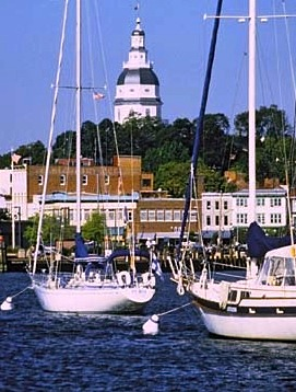Annapolis Hybrid Marine view of the harbor